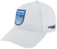 BEACHSDIE CS TEAM BASEBALL CAP  --  WHITE BLACK