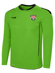 EASTERN PIKE SPARROW II LONG SLEEVE GOALKEEPER JERSEY WITH PADDING POWER GREEN BLACK