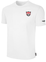 EASTERN PIKE SHORT SLEEVE COTTON T-SHIRT EASTERN PIKE CREST ON WEARERS LEFT CHEST WHITE BLACK