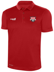 EASTERN PIKE CLASSICS POLY POLO RED WHITE