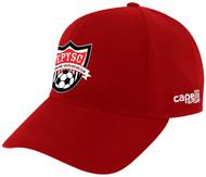 EASTERN PIKE CS II TEAM BASEBALL CAP RED WHITE