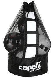 "EASTERN PIKE CAPELLI SPORT SMALL BALL BAG 17""L x 17""W x 29""H BLACK WHITE"