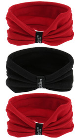 EASTERN PIKE 3 PACK SEAMLESS TWISTER SET RED BLACK