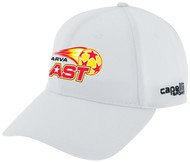 DELMARVA BLAST CS II BASEBALL CAP WHITE BLACK