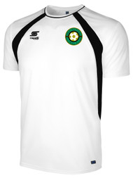 NEW MILFORD COACHES/PLAYERS TRAINING TOP -- WHITE BLACK