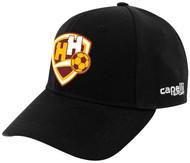 HADDON HEIGHTS SC CS II TEAM BASEBALL CAP BLACK WHITE