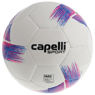 HADDON HEIGHTS SC  TRIBECA STRIKE TEAM, IMS QUALITY MACHINE STICHED SOCCER BALL BRIGHT PINK PROMO BLUE