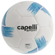 HADDON HEIGHTS SC  TRIBECA STRIKE TEAM, IMS QUALITY MACHINE STICHED SOCCER BALL PROMO BLUE TURQUOISE
