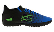 HADDON HEIGHTS SC FUSION I TR TURF SOCCER SHOES PROMO BLUE/NEON GREEN/BLACK