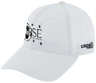 ECLIPSE SELECT CS II TEAM BASEBALL CAP WHITE BLACK