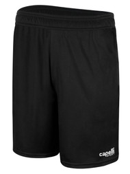 OFFICIAL    REFEREE SHORTS BLACK WHITE - MSRP