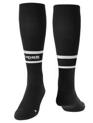 OFFICIAL   REFEREE SOCKS BLACK WHITE - MSRP