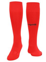 BASIC CS REFEREE SOCKS REFEREE   RED BLACK - MSRP