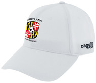 REFEREE     CS II  TEAM BASEBALL CAP WHITE BLACK  - MSRP