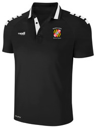 REFEREE UPTOWN POLO BLACK WHITE - MSRP