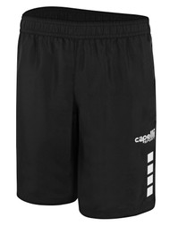 REFEREE UPTOWN WOVEN SHORTS BLACK WHITE - MSRP