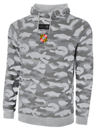 REFEREE LIFESTYLE FRENCH TERRY CAMO PULLOVER HOODIE LIGHT GREY COMBO BLACK - MSRP