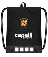 """REFEREE       CS II DELUXE SACK PACK 18""""H x 14.5""""W x .5"""" BLACK WHITE - MSRP"""