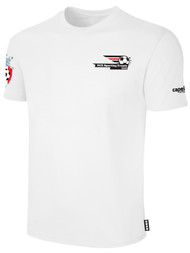 LAKE GARDA SHORT SLEEVE COTTON T-SHIRT -- WHITE