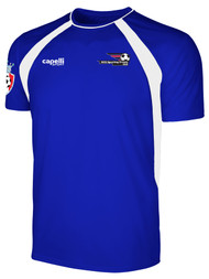 LAKE GARDA RAVEN TRAINING JERSEY -- ROYAL BLUE WHITE
