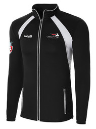 LAKE GARDA RAVEN TRAINING JACKET -- BLACK