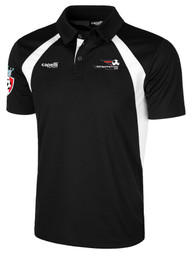 LAKE GARDA RAVEN POLO -- BLACK