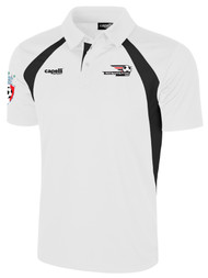 LAKE GARDA RAVEN POLO -- WHITE