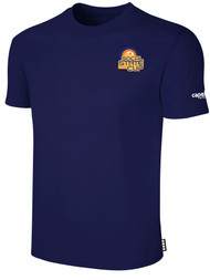 SOCAL STATE CUP SHORT SLEEVE COTTON T-SHIRT NAVY WHITE LOGO LEFT CHEST