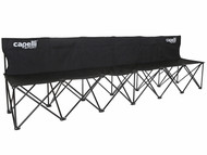 SOCAL  STATE CUP  FOLDING TEAM BENCH   BLACK WHITE