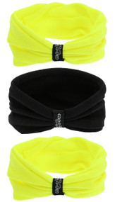 SOCAL STATE CUP 3 PACK SEAMLESS TWISTER SET NEON YELLOW BLACK