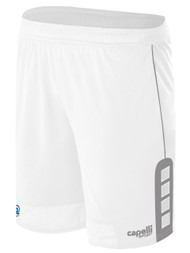 RUSH NEW MEXICO CONDOR MATCH AWAY  SHORTS  --  WHITE  GREY