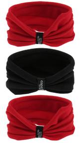 CSA 3  PACK SEAMLESS TWISTER SET RED BLACK