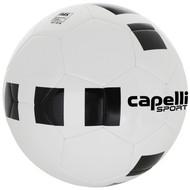 CSA  4 CUBE CLASSIC TEAM MACHINE STITCHED SOCCER BALL  WHITE BLACK