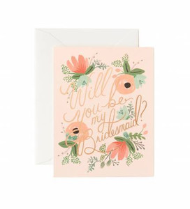 Rifle Paper Co. Blushing Bridesmaid Card Boxed Set