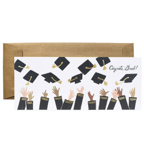 Rifle Paper Co. Congrats Grad! No. 10 Card