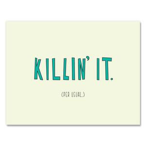 Killin' It Card