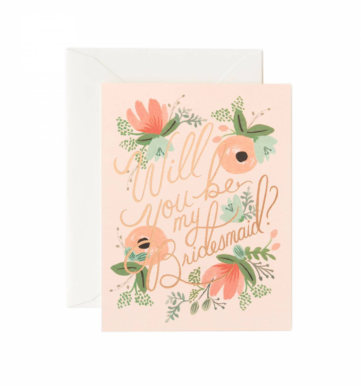 Rifle Paper Co Will You Be My Bridesmaid Card Pressed A