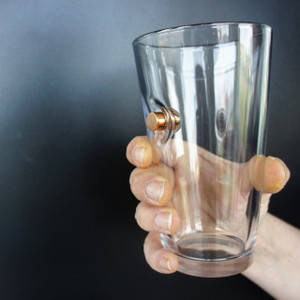 BenShot Pint Glass - .45 Cal