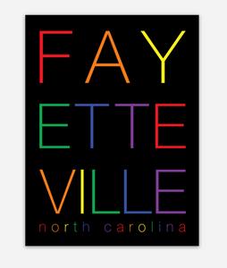 Fayetteville Pride  Sticker