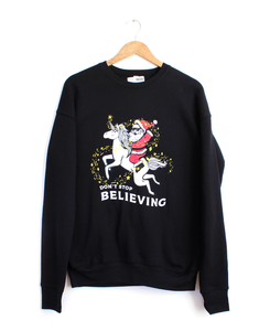 Don't Stop Believin' Drop Shoulder Sweatshirt