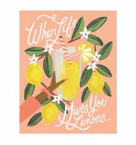 Rifle Paper Co. Lemons to Lemonade Art Print