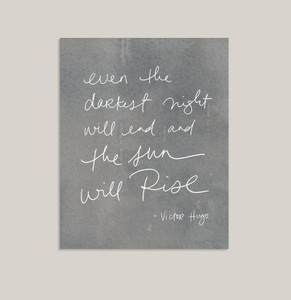 The Sun Will Rise Art Print
