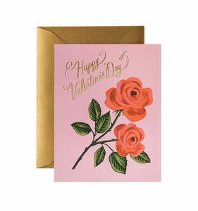 Rifle Paper Co. Roses are Red Valentines Day Card