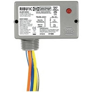 RIBU1C Enclosed Pilot Relay 10 Amp SPDT with 10-30 Vac/dc/120 Vac Coil