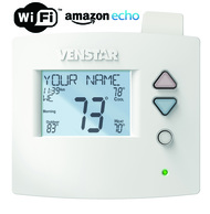 Venstar T4900 Voyager Commercial Programmable Thermostat 4H/2C With ACC-VWF1 WiFi Module