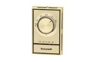 Honeywell T498b1512  Line Volt Electric Heat Thermostat Beige