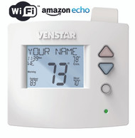 Venstar T4800 Voyager Commercial Programmable Thermostat 4H/2C With ACC-VWF1 WiFi Module