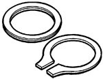 White Rodgers  F92-0229 Water Seal Kit For 1311-104, 1311-133, 1315-104, 1361-104, 1361-133
