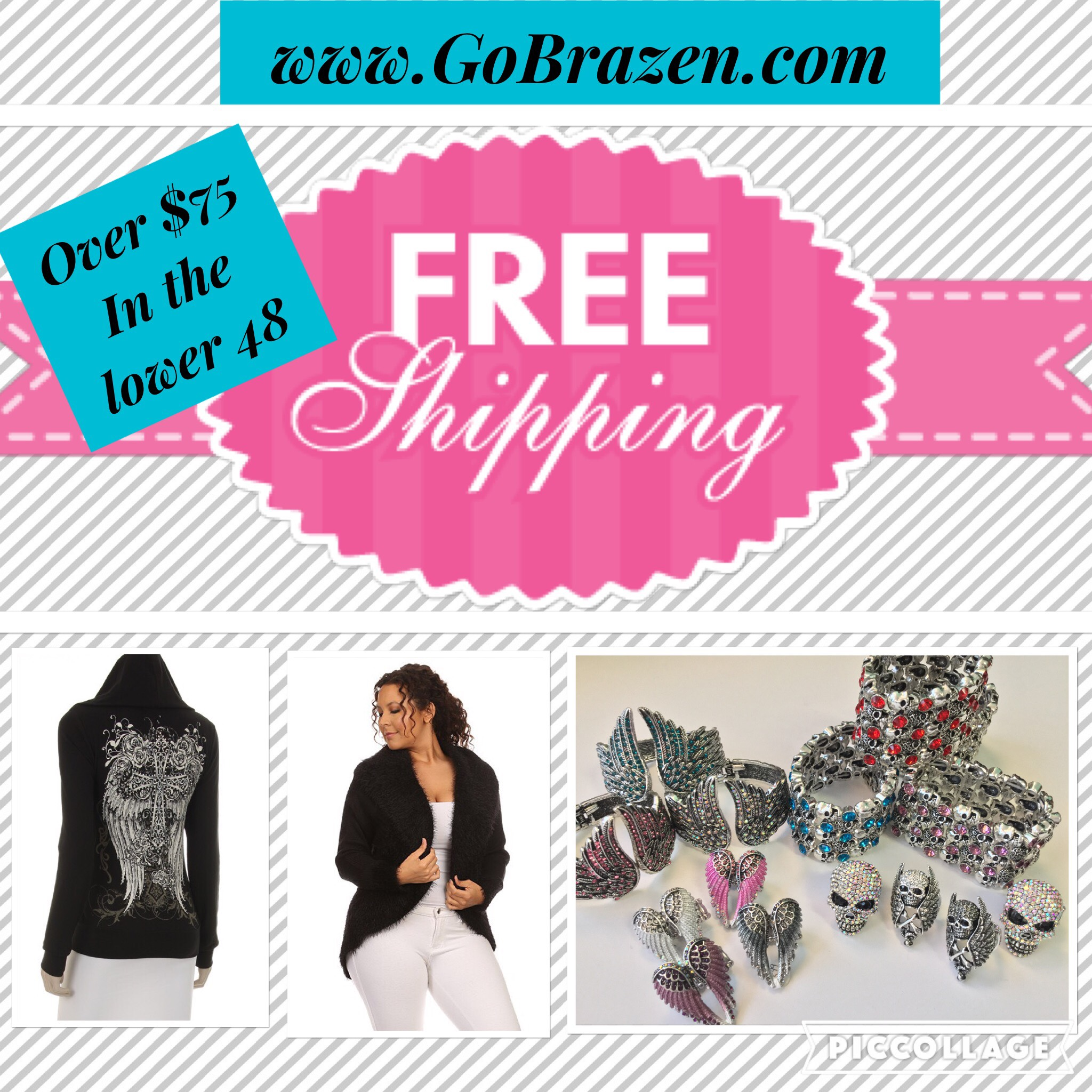 Free Shipping on ALL orders $75 or more Through 11/30/16
