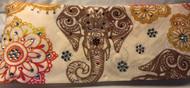 Bandana, Elephant Earth Tones FREE SHIPPING